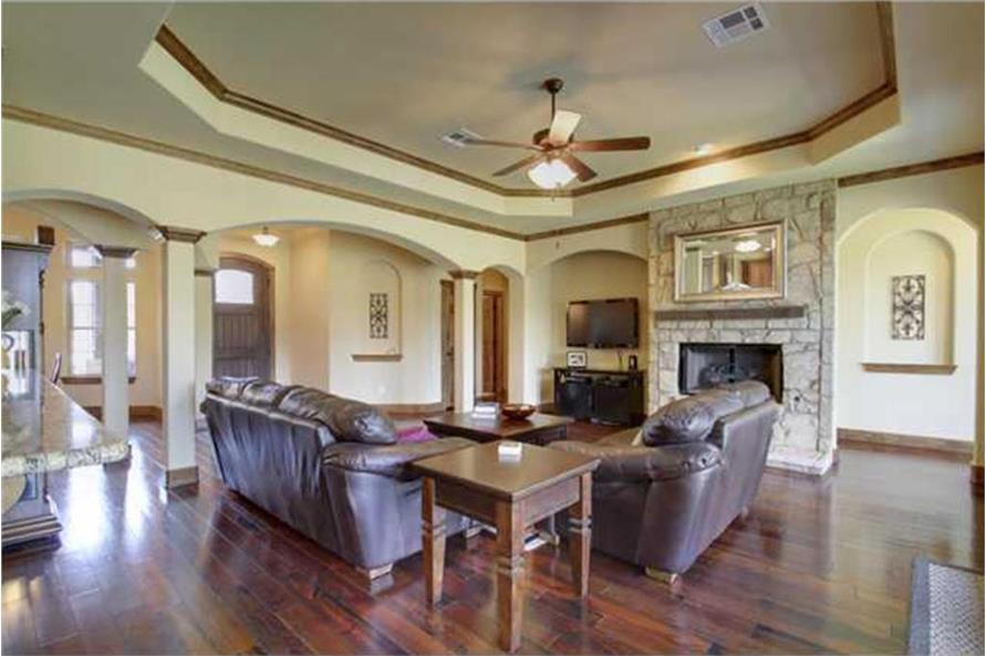 Great Room of this 4-Bedroom,2690 Sq Ft Plan -2690