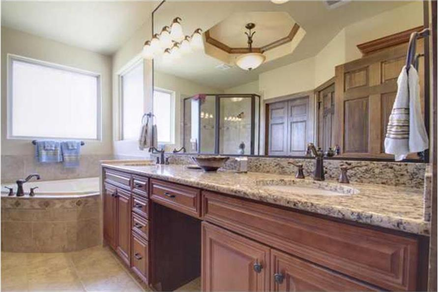 Bathroom of this 4-Bedroom,2690 Sq Ft Plan -2690