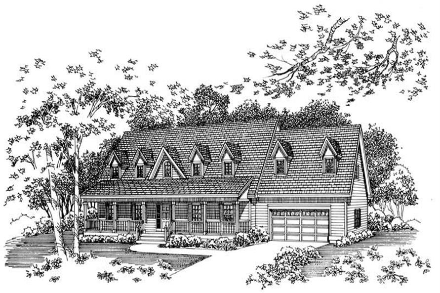 Main image for house plan # 17978
