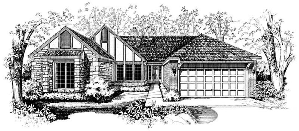 Main image for house plan # 18776