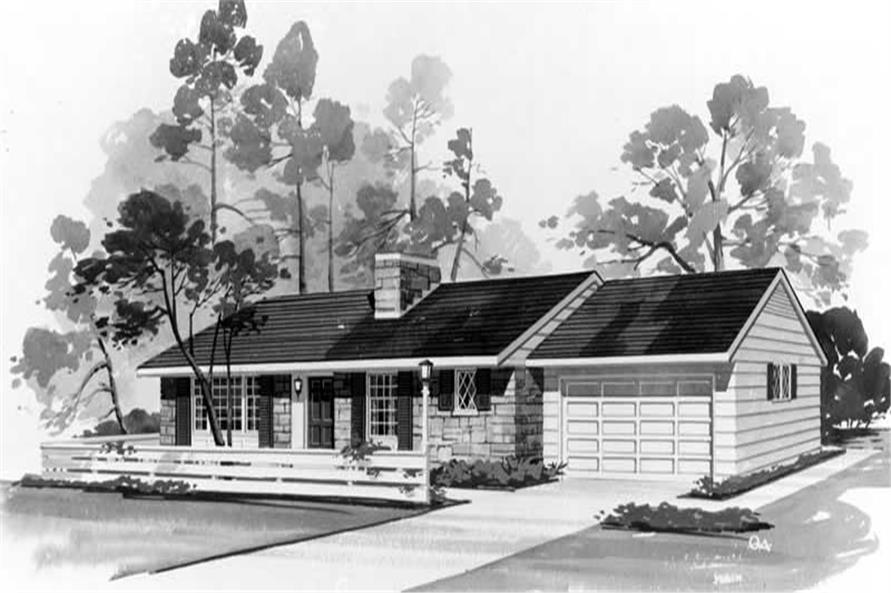 Main image for house plan # 17103