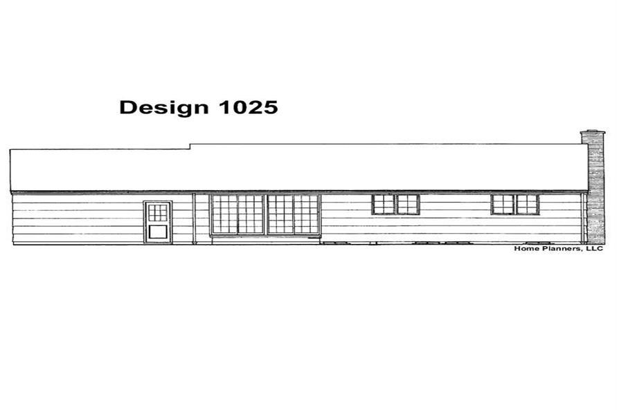 House Plan #137-1006