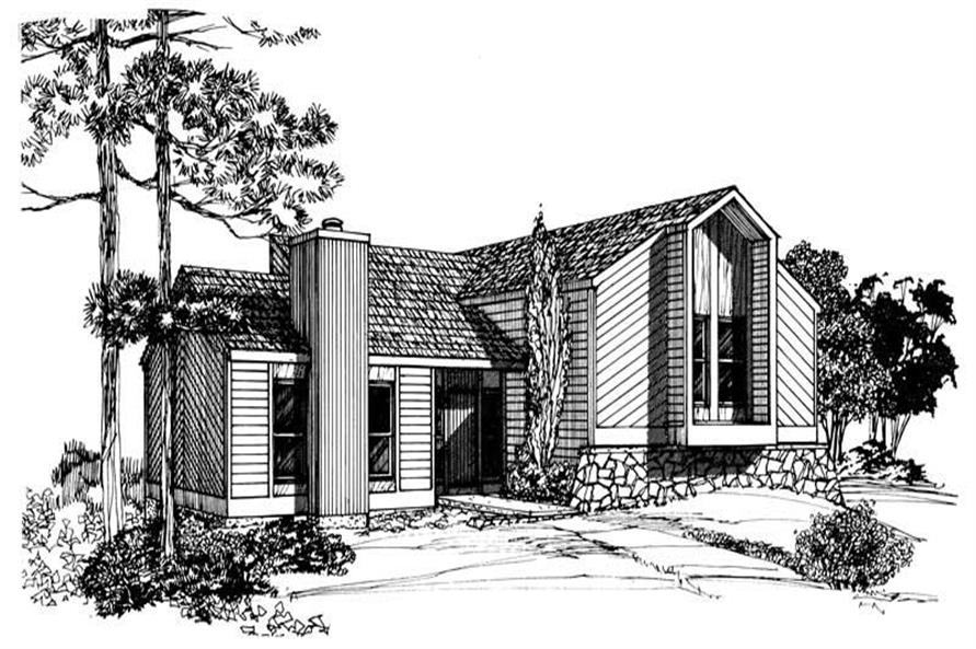 Main image for house plan # 17969