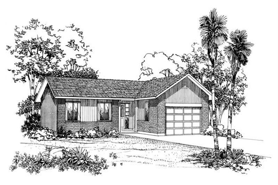 Main image for house plan # 18110