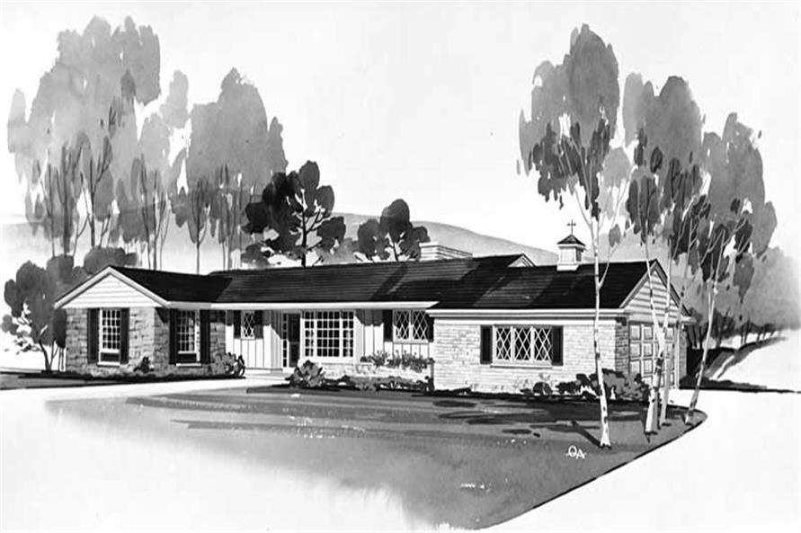 Main image for house plan # 17108
