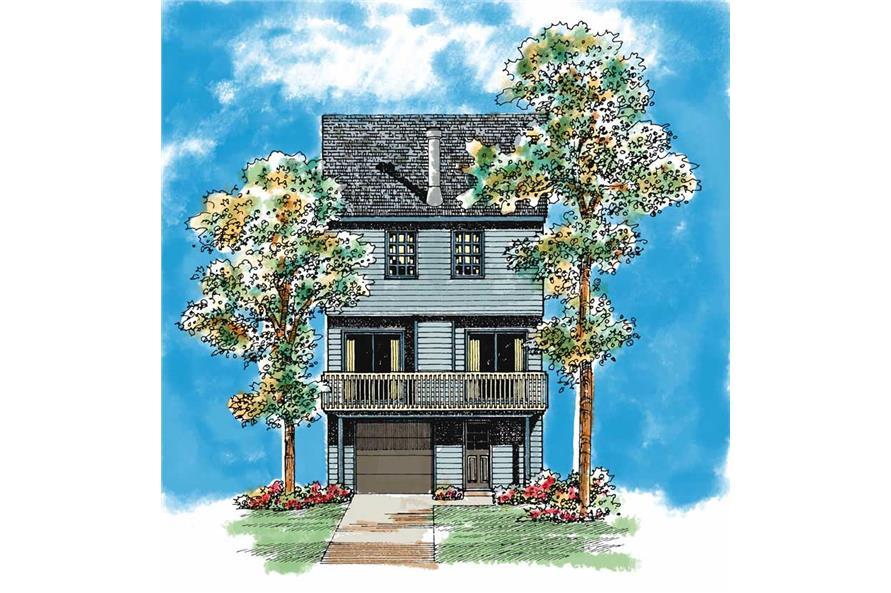 House Plan #137-1016