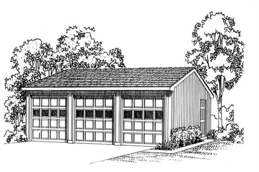 Main image for house plan # 18807