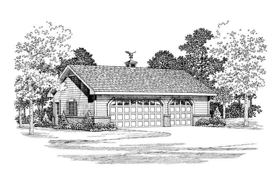 Main image for house plan # 18812