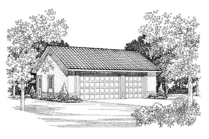 Main image for house plan # 18811