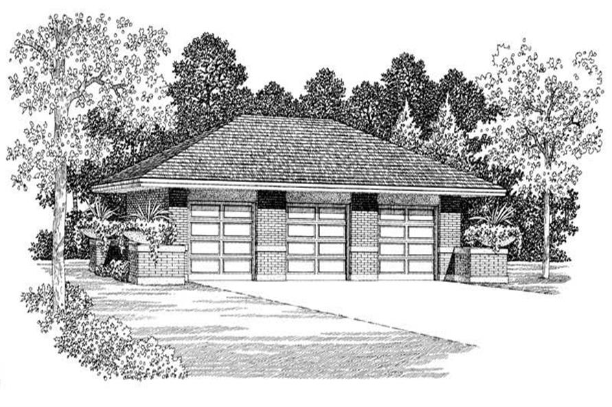 Main image for house plan # 18809