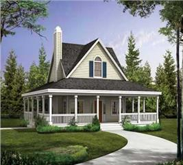 House Plan #137-1023
