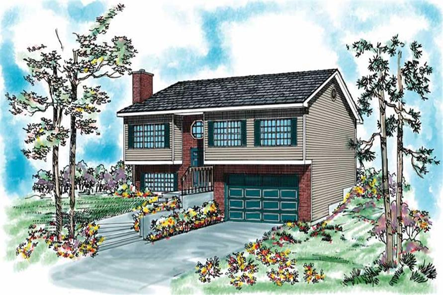 Main image for house plan # 18018