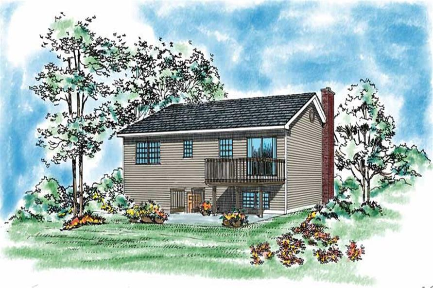 House Plan #137-1024