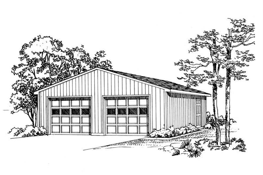 Main image for house plan # 18808