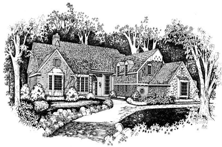 Main image for house plan # 18777