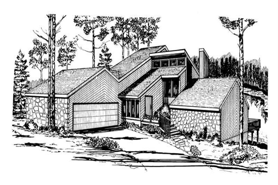 Main image for house plan # 17959