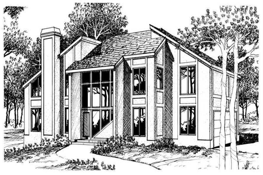 Main image for house plan # 17961