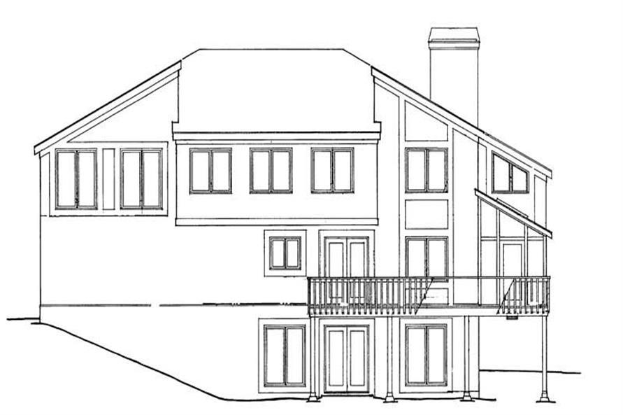 House Plan #137-1031