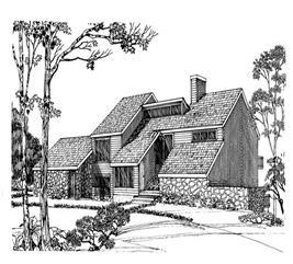 House Plan #137-1033