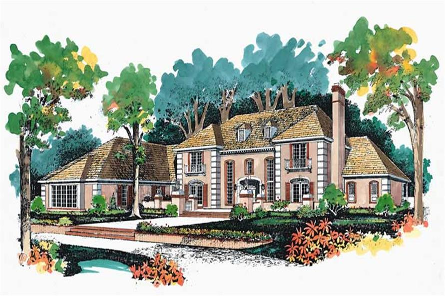 Main image for house plan # 18779