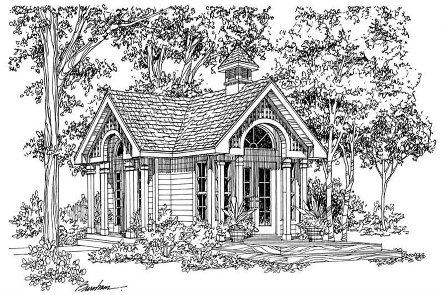 Main image for house plan # 18861