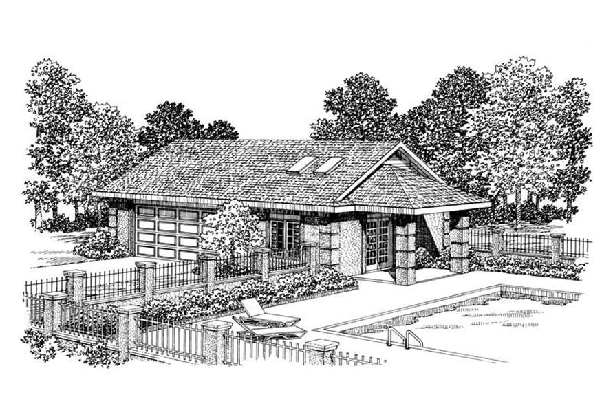 Main image for house plan # 18835