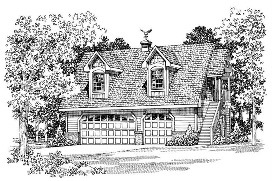 Main image for house plan # 18847