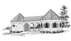 Main image for house plan # 18855