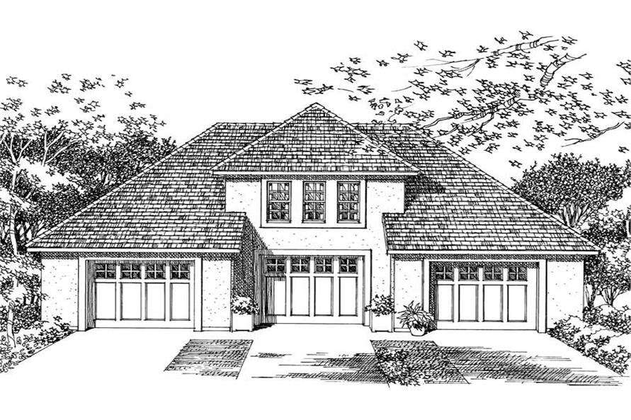 Main image for house plan # 18854