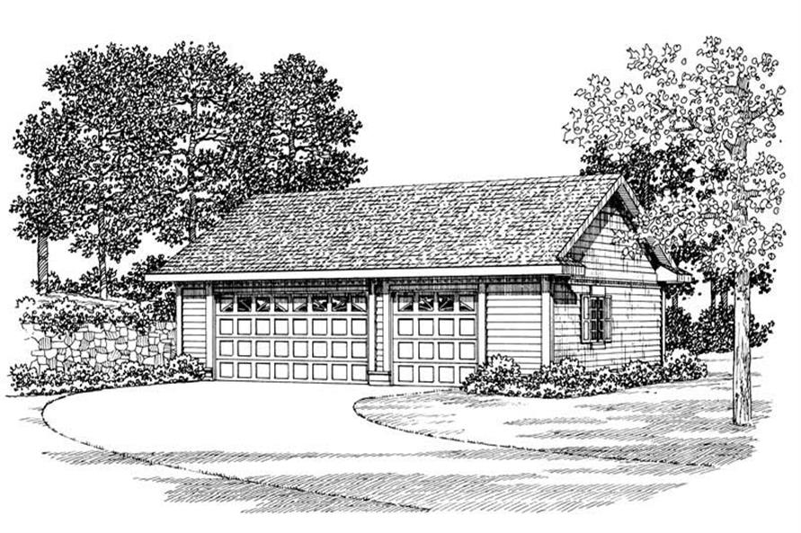 Main image for house plan # 18841