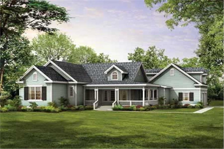Main image for house plan # 18161