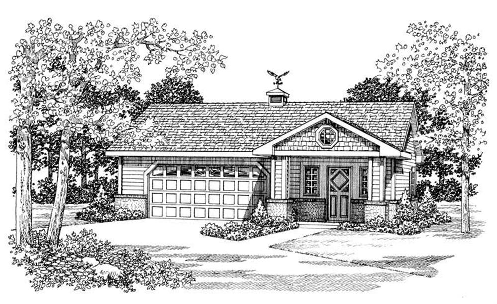 Main image for house plan # 18843