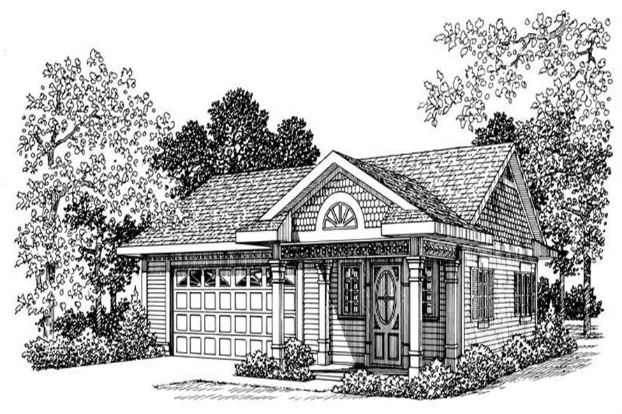 Main image for house plan # 18824