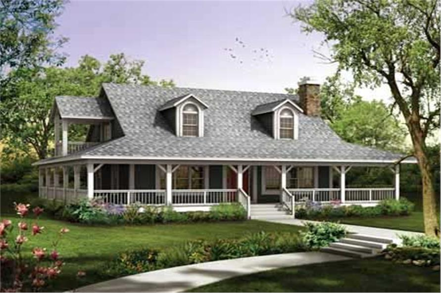 Main image for house plan # 18150
