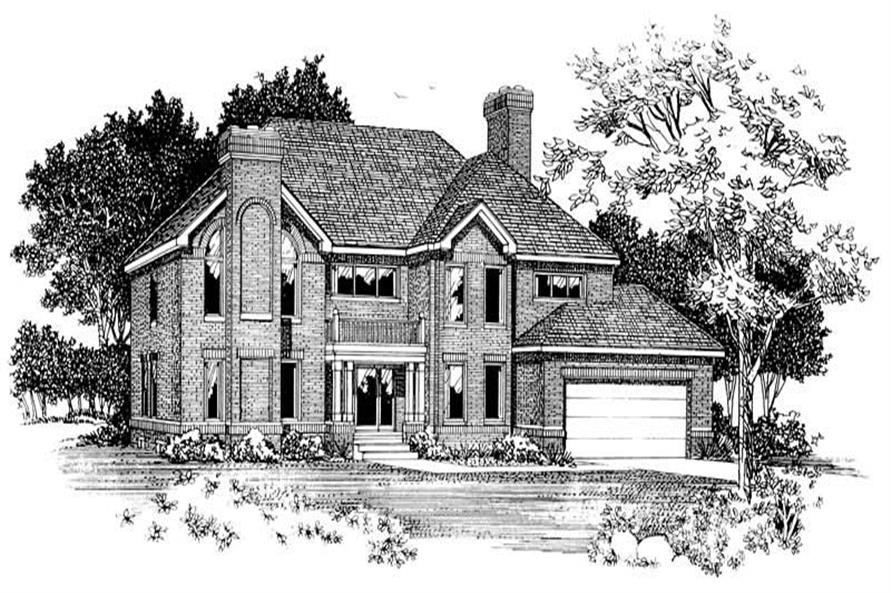 Main image for house plan # 18143