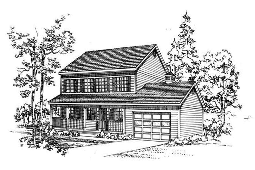 Main image for house plan # 18116