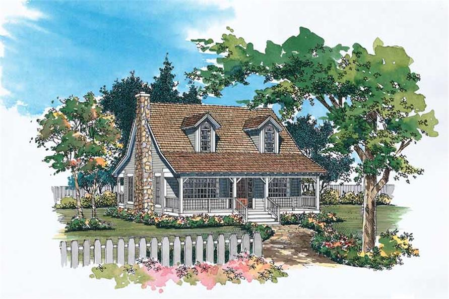 Main image for house plan # 18149