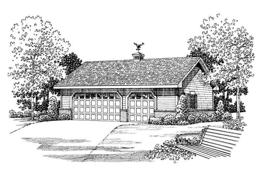 Main image for house plan # 18839