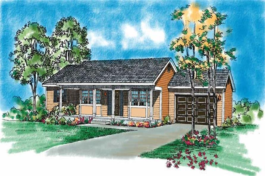 Main image for house plan # 18115