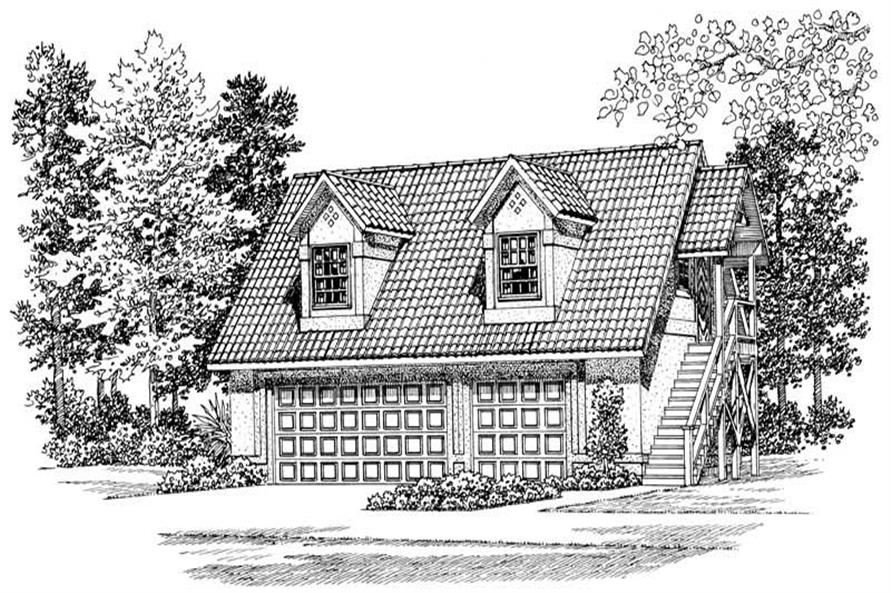 Main image for house plan # 18846