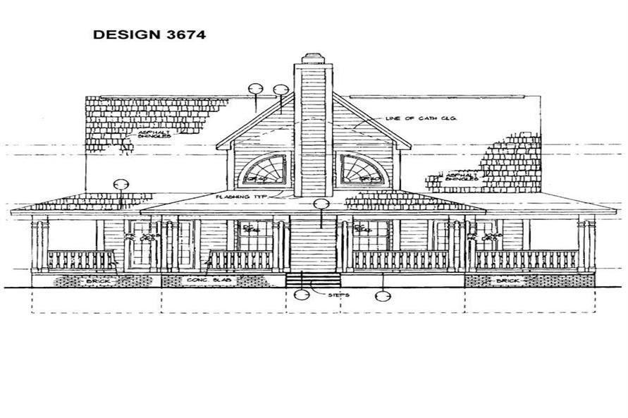 House Plan #137-1097
