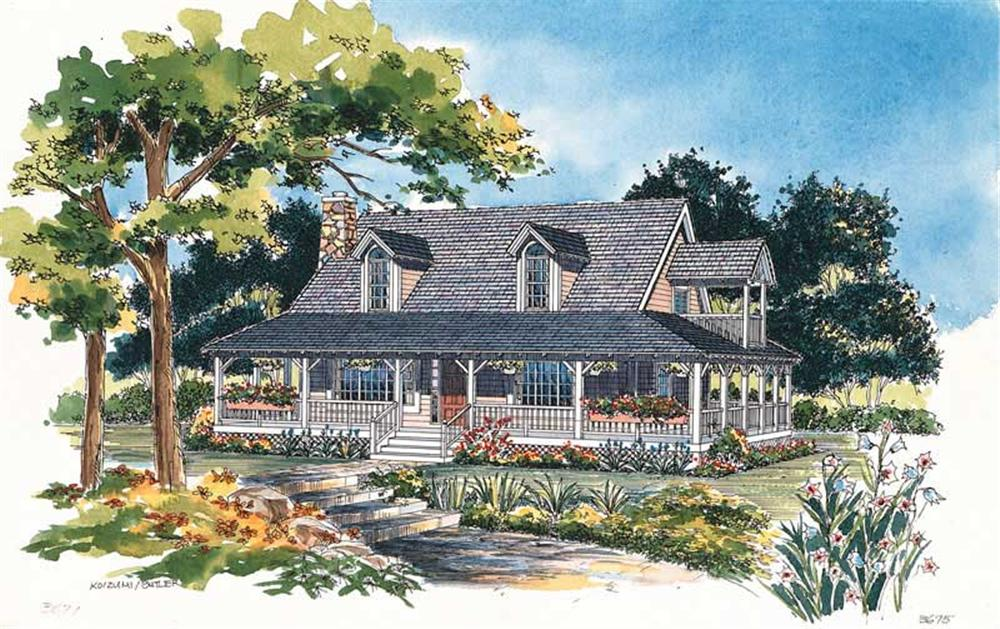 Main image for house plan # 18152