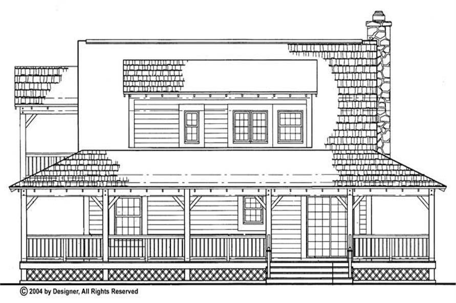 House Plan #137-1098