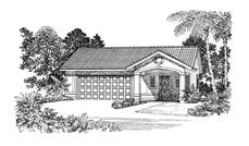 Main image for house plan # 18842