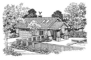Main image for house plan # 18834