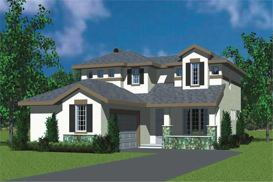 3-Bedroom, 2072 Sq Ft Craftsman Home Plan - 137-1110 - Main Exterior