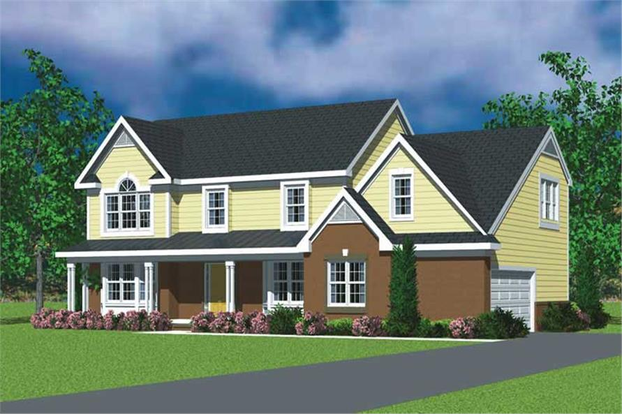 Main image for house plan # 17826