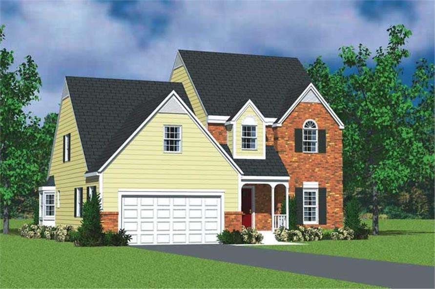 Main image for house plan # 17808