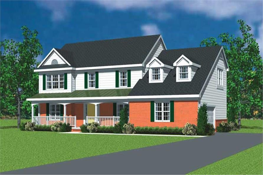 Main image for house plan # 17827