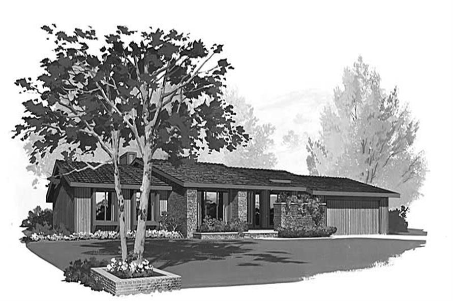 House Plan HW-2818 Front Elevation
